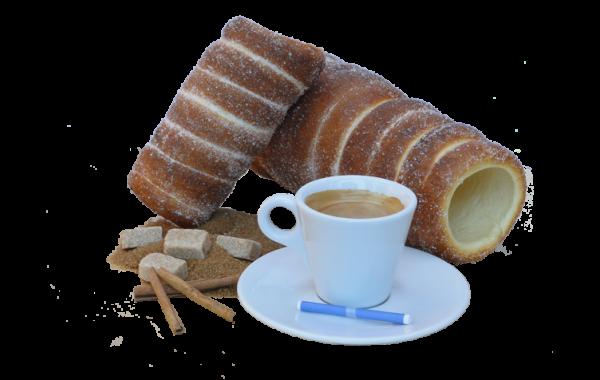 Chimney Cakes: Cinnamon Coffee