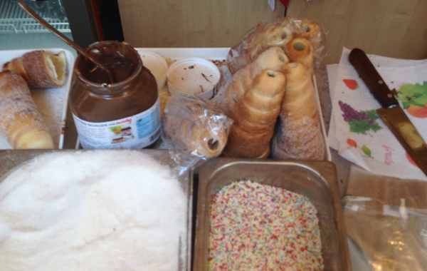Chimney Cake Ingredients